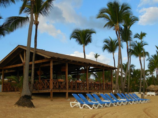 Excellence Punta Cana: Los Olas on the beach for lunch