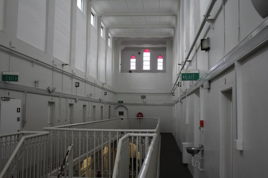 Jailhouse Accommodation: Second floor interior