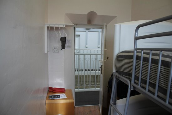 Jailhouse Accommodation: 1 - 2 person room, remember this was a jail!