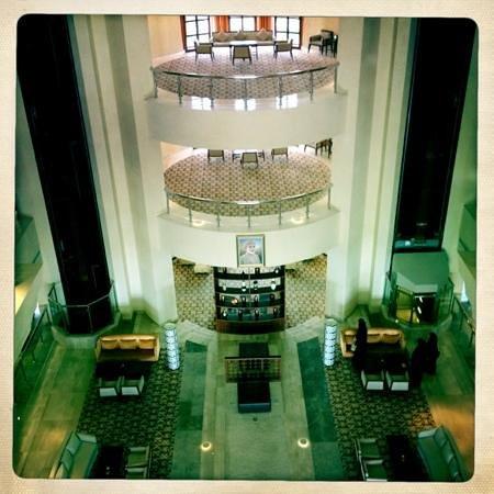 Crowne Plaza Sohar: the hall