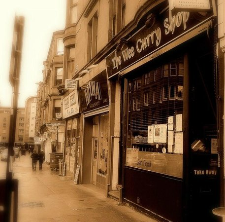 41 Byres Road 01413391339 Picture Of The Wee Curry Shop