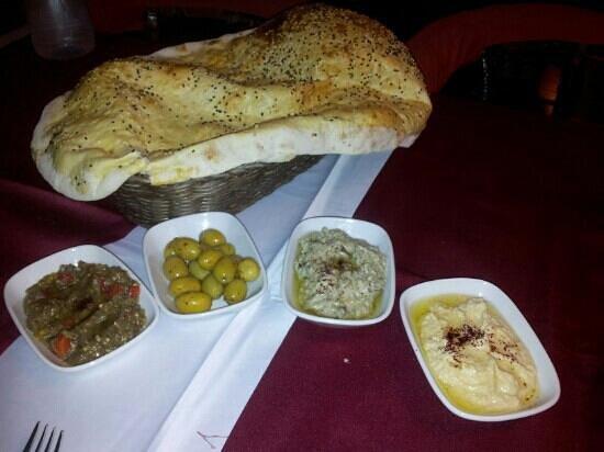 Grand Lounge Turkish Cuisine: various starters