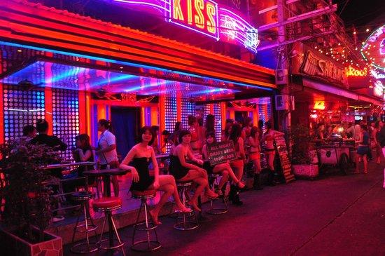 Soi Cowboy: Girls awaiting for customers