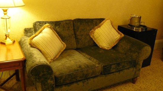 Lenox Hotel: Sofá