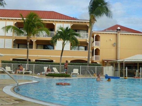 Le Flamboyant Hotel and Resort: Les unités studios