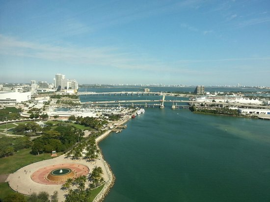 InterContinental Miami: View from the room