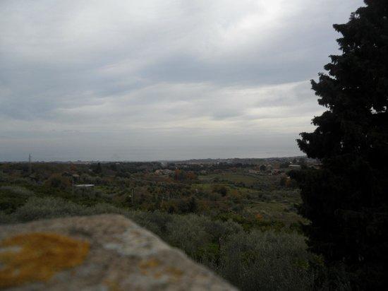 Monaci delle Terre Nere : panorama dal terrazzino