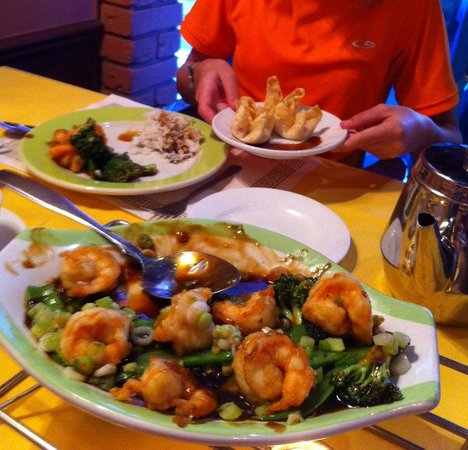 Panda House Chinese Restaurant: Rock Salt Shrimp