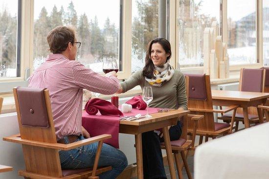 Hotel Oberstdorf: Abendessen im Wintergarten