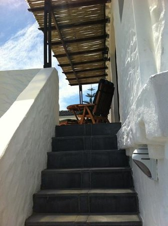 Montrose Guesthouse: Aufstieg zu unserem Apartment