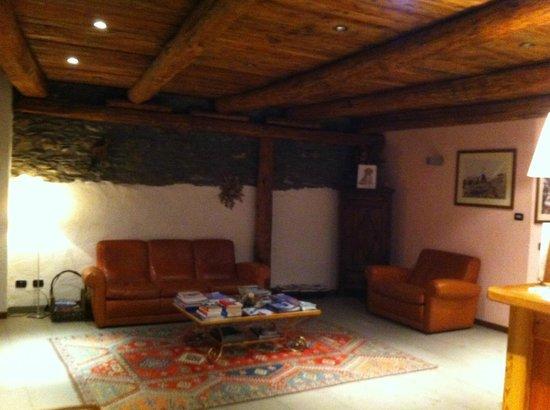 Chalet Faure & SPA : La hall dello Chalet