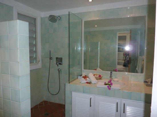 Hotel La Plantation: salle de bain