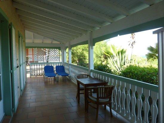 Hotel La Plantation: la terrasse