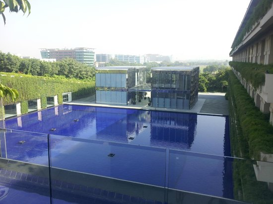 The Oberoi, Gurgaon: View from near the lobby