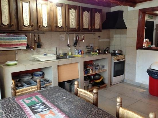 Albergue Aylen-Aike: la cocina