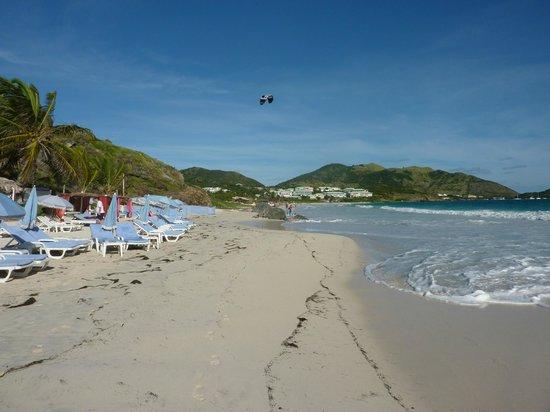 Hotel La Plantation: plage d Orient bay