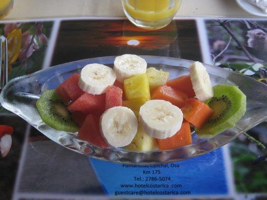 Hotel Lookout at Playa Tortuga: Starter van het ontbijt