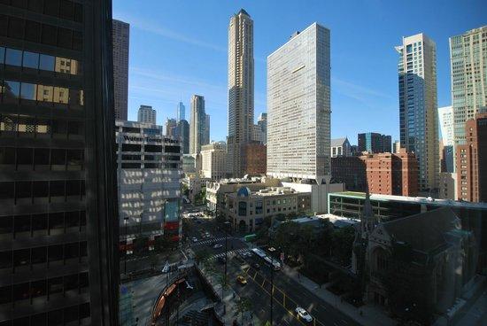 The Westin Michigan Avenue Chicago: Ausblick vom Zimmer