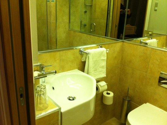 Arosfa Hotel: Small but functional bathroom