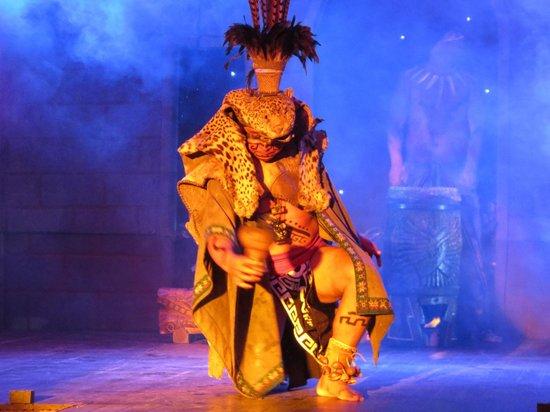 Secrets Maroma Beach Riviera Cancun: Mayan Warrior Show