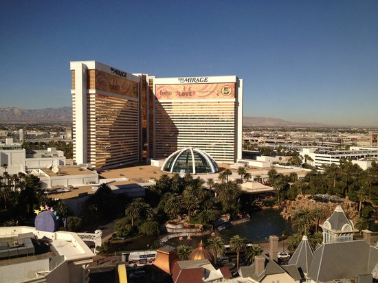 Harrah's Las Vegas: View from window