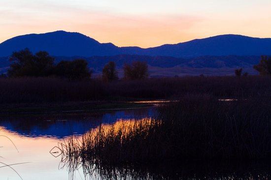 Sacramento National Wildlife Refuge: Sunset