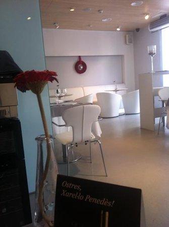 Alenti Sitges Hotel & Restaurant: restaurante