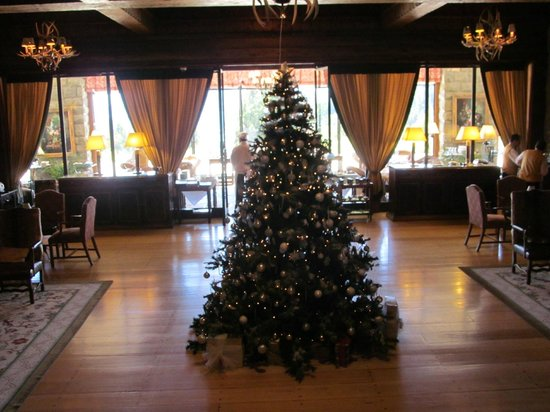 Llao Llao Hotel and Resort, Golf-Spa: Arbol de Navidad del lobby