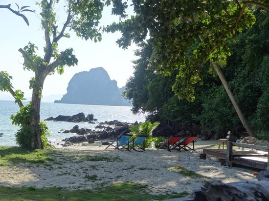 Koh Ngai Thanya Beach Resort: Пляж