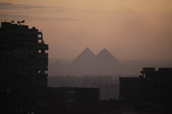 Grand Nile Tower: Pyramids of Giza