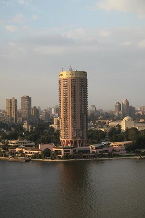 Grand Nile Tower: View to the north