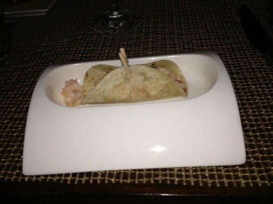 Raya at The Ritz-Carlton : lobster taco