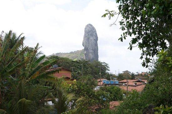 Pedras Secas Inn: View to the Pico
