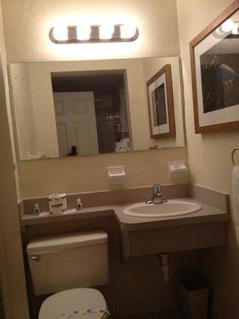 Pelican RV Resort and Motel : bathroom