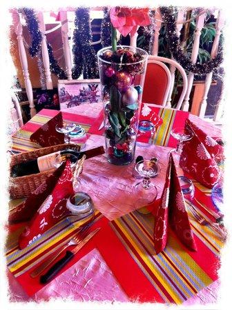Langrune-sur-Mer, Γαλλία: Table de fête Chez Italo