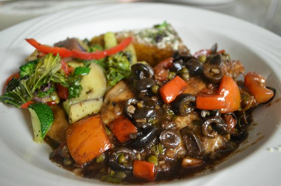 The Villa at Palmer Lake: Chicken Caponata