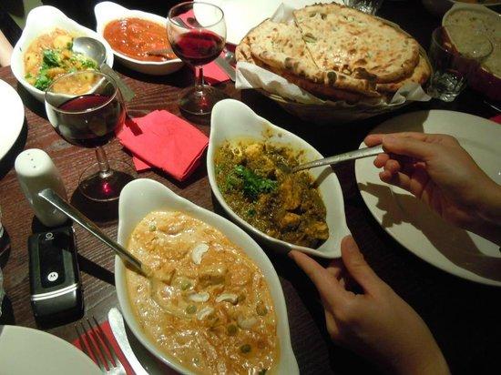 Punjab Tandoori Restaurant: dinner
