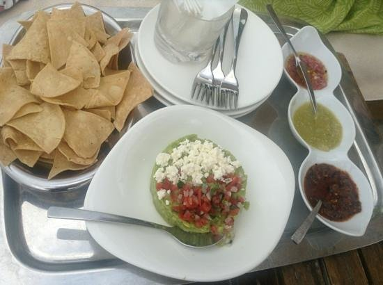 The St. Regis Punta Mita Resort: delicious guacamole!