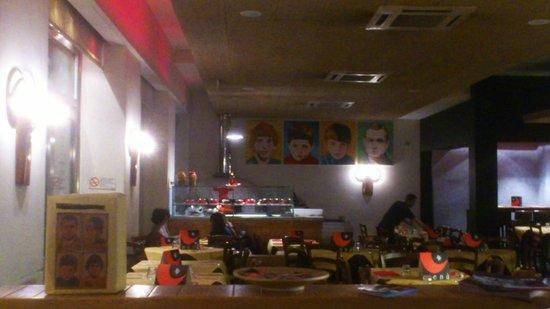 Fratelli La Bufala Priscilla: interno pizzeria