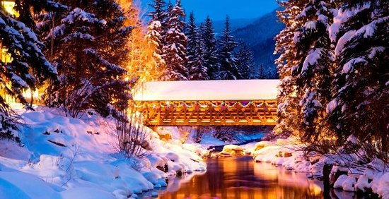 The Vail Spa Condominiums: Vail: A Winter Wonderland