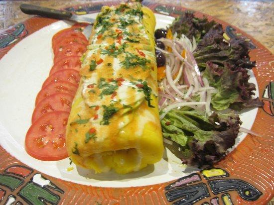 Alhambra Restaurant: Beautiful Presentation of Vegetables