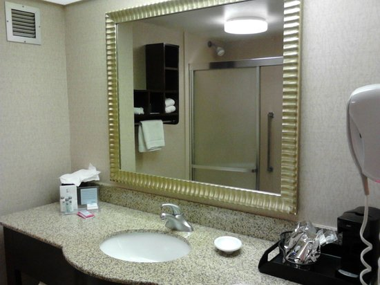 Hampton Inn Philadelphia / Willow Grove : vanity