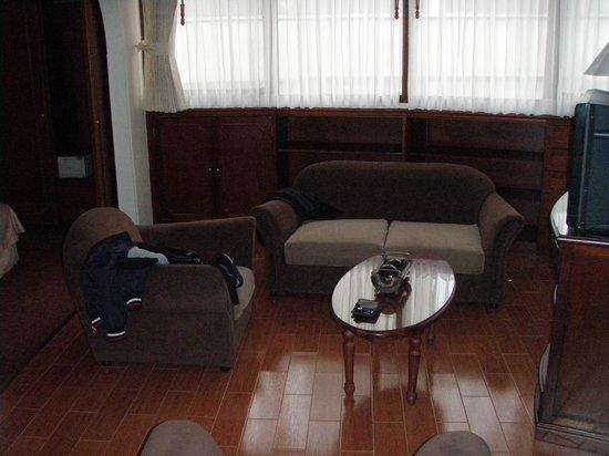 Hotel Vilar America : Sala de estar de la habitación