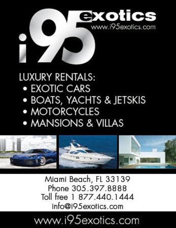 Exotic Car Rental Miami Picture Of I95 Exotic Rentals Miami Beach