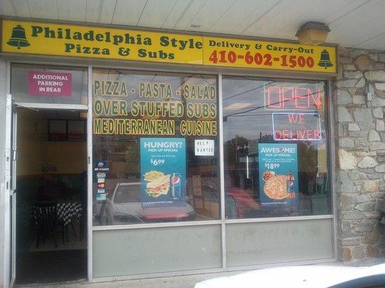 Philadelphia Style Pizza: H