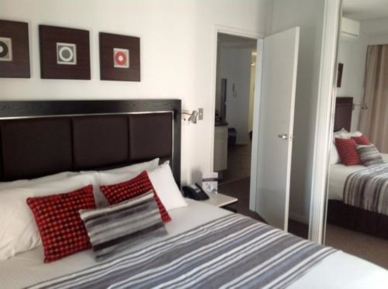 Meriton Serviced Apartments Brisbane on Adelaide Street: Bedroom