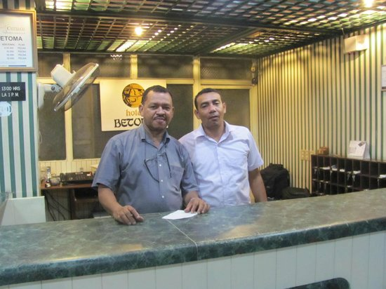 Hotel Betoma: The helpful, courteous staff