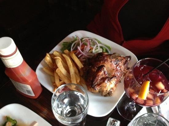 Mancora : Hühnchen