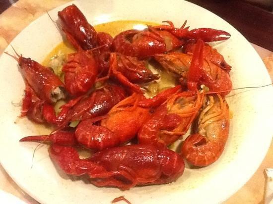 Hibachi Grill & Supreme Buffet: Crawfish
