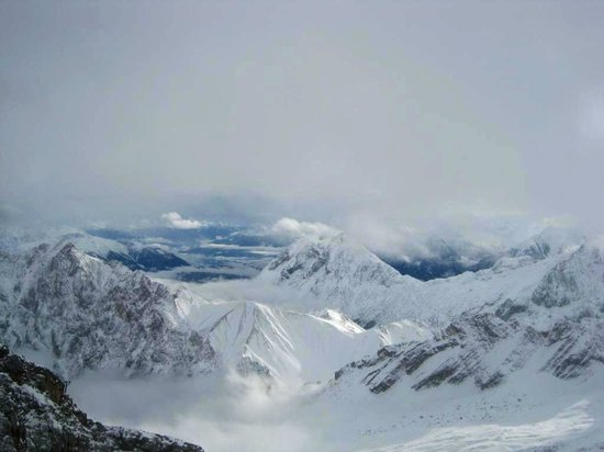 Zugspitze: view from top of Germany